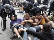 Violente in Catalunia