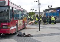 Incident in capitala suedeza