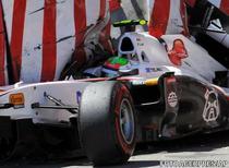 Sergio Perez, accident la Monte Carlo