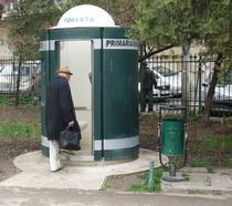Toaleta publica automata in Bucuresti