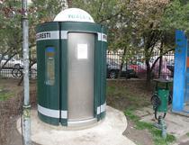 Toaleta publica automata in Capitala