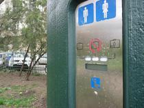 Toaleta automata racordabila