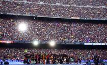 Sarbatoare pe Camp Nou
