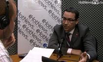 Victor Ponta in studioul HotNews.ro