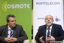 Stefanos Theocharopoulos si Yorgos Ioannidis, sefii Cosmote si Romtelecom