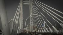 Primele teste de rezistenta la podul hobanat de la Basarab