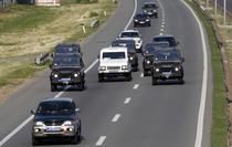 Convoiul in care se afla Mladici