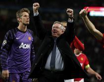 Ferguson, fericit dupa victoria cu Schalke