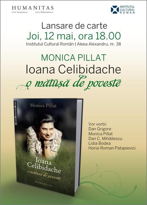 Invitatie Ioana Celibidache
