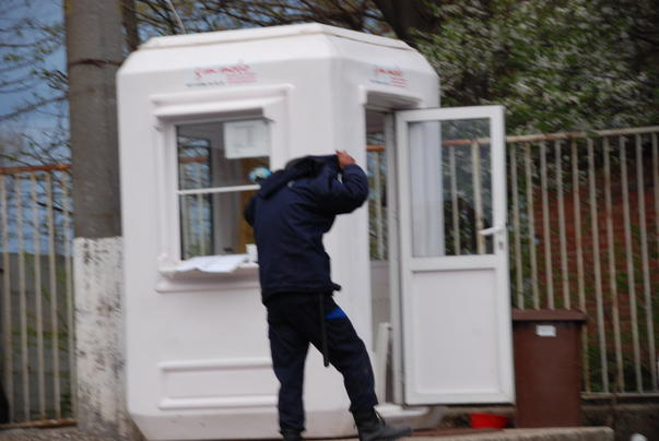 Bodyguarzii infractori ai Primariei Sectorului 1 / 15 aprilie 2011 - 19:40 (2)