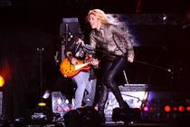 Fotogalerie: Shakira in Piata Constitutiei
