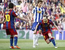 Iniesta, gol contra lui Espanyol