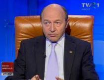 Traian Basescu la TVR1