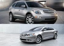Buick Enclave si Buick LaCrosse