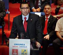 Victor Ponta prezinta ideile USL privind administratia locala