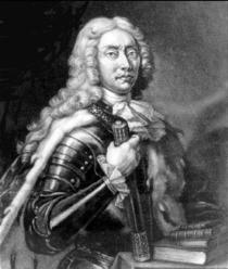 "Dimitrie Cantemir, in prima editie a ""Descrierii Moldovei"" (1716)"