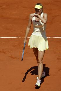 Maria Sharapova, eliminata de la Roland Garros