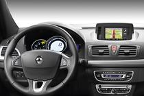 Sistem de navigatie Carminat TomTom pe Renault Megane CC