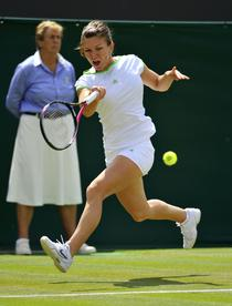 Simona Halep, la Wimbledon 2011