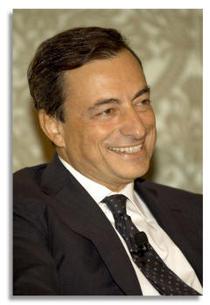 Mario Draghi, seful BCE