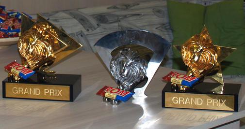 2 grand prix and a titanium