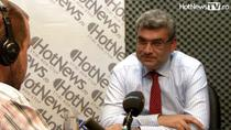 Teodor Baconschi in studioul HotNews.ro
