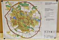 Harta inelelor de circulatie ale Capitalei