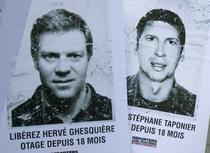 Herve Ghesquiere si Stephane Taponier au fost tinuti ostatici timp de 547 de zile