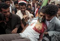 FOTOGALERIE Lupte stradale in Sanaa si Taiz