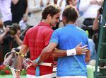 "Federer si Nadal, eliminare ""la brat"""