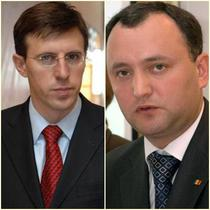 Dorin Chirtoaca si Igor Dodon