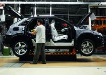 Audi Q3 pe linia de fabricatie