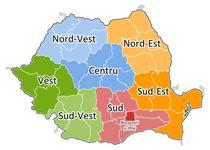 Cele 8 regiuni de dezvoltare functionale in prezent