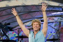 Fotogalerie: Bon Jovi in Piata Constitutiei