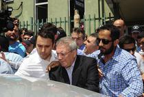 Aziz Yildirim, centru, retinut de politie