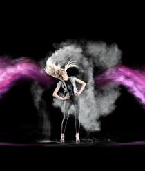 Prezentare de moda holografica