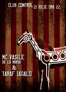 afis concert MC Vasile si Taraf Iagalo