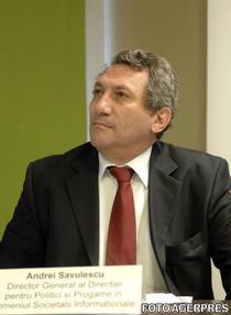 Andrei Savulescu, director general in MCSI
