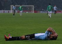 Lavezzi, dezamagit dupa egalul Argentinei cu Bolivia 91-1)
