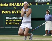 Petra Kvitova, noua campioana la Wimbledon