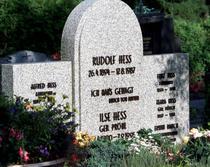Mormantul lui Rudolf Hess (august 2000)
