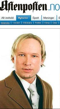 Anders Behring Breivik, presupusul agresor responsabil de atentatele de la Oslo
