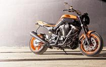 Motocicleta Deus