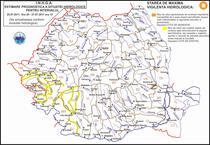 Avertizare hidrologica 25 - 27 iulie