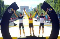 Turul Frantei, podium de premiere