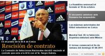 Partida amicala Romania - Argentina nu se va mai disputa