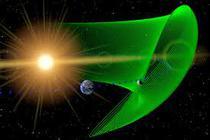 un asteroid mic calatoreste pe aceeasi orbit cu Pamantul