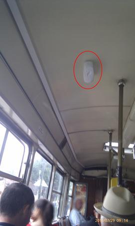 Schimbarea mirosului in tramvaiele din Timisoara