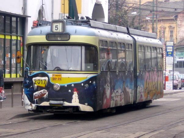 Schimbarea mirosului in tramvaiele din Timisoara (2)
