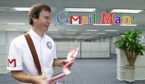 GmailMan un personaj care ironizeaza Google